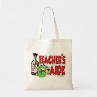L'aide du professeur (vin) sac en toile