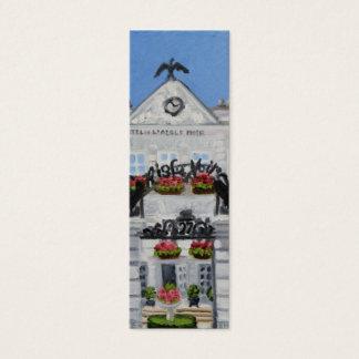 L'Aigle Noir : Signet maigre de Fontainebleau Mini Carte De Visite