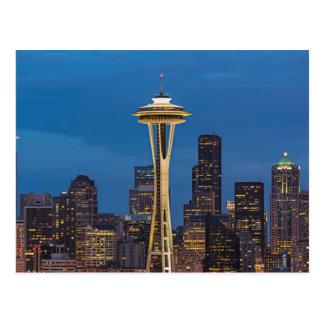 L'aiguille de l'espace et Seattle du centre Cartes Postales