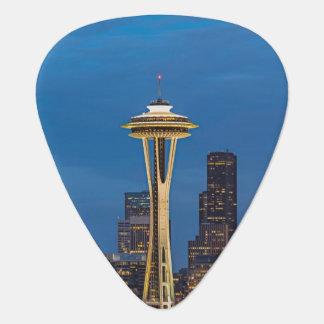 L'aiguille de l'espace et Seattle du centre Onglet De Guitare