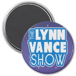 L'aimant de logo d'exposition de Lynn Vance Magnet Rond 7,50 Cm