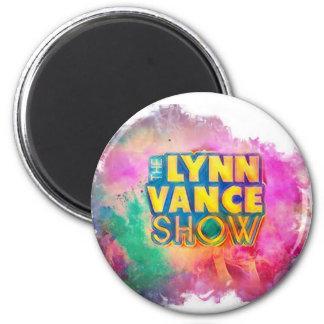 L'aimant rond d'exposition de Lynn Vance Magnet Rond 8 Cm