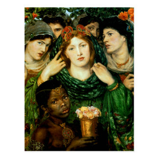 L'aimé (la jeune mariée) carte postale