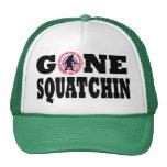 Laiss allée de Squatchin et de chasse Casquettes De Camionneur
