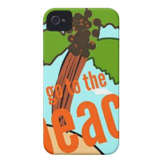 laisse aller à la plage coque Case-Mate iPhone 4