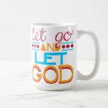 Laissé allez laisser un DIEU (la typographie origi Mug