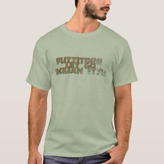 Laissé disparaissent le rétro T-shirt de style