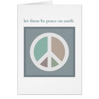 Laissé il y ait de paix sur la CARTE de la terre…