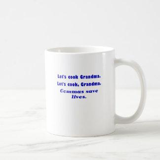 Laisse la grand-maman de cuisinier que les mug