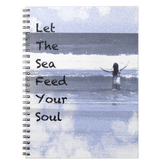 Laissez la mer alimenter votre carnet d'âme