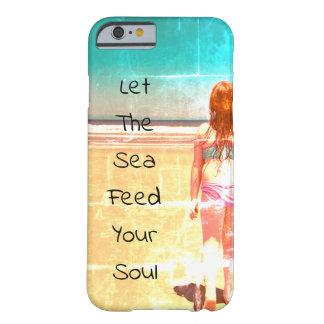 Laissez la mer alimenter votre coque iphone d'âme