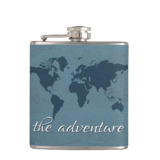 Laissez l'aventure commencer flasques