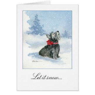 Laissez lui neiger ! Célébration de la carte et de