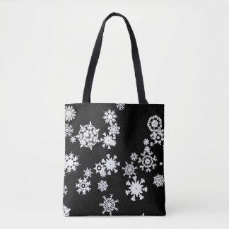 Laissez lui neiger ! Sac fourre-tout à Noël