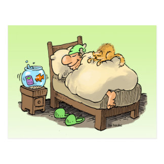 laissez-moi dormir carte postale de longsleeper