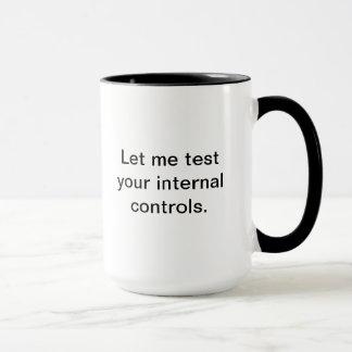 Laissez-moi examiner vos contrôles internes mug