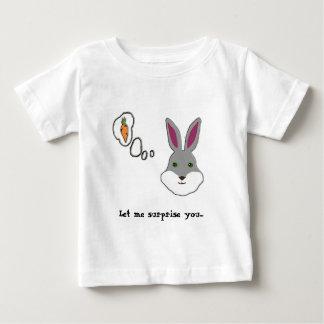 Laissez-moi vous étonner t-shirt pour bébé