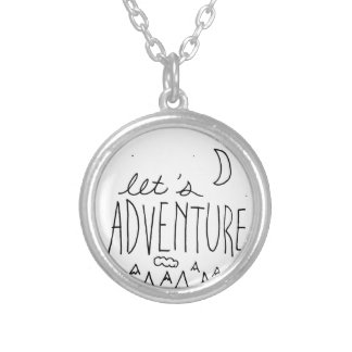 Laissez-nous Adventure-01 Pendentif Rond