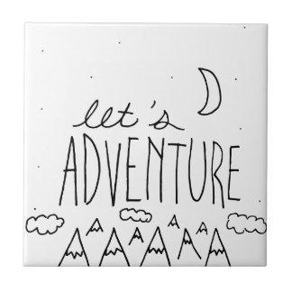 Laissez-nous Adventure-01 Petit Carreau Carré