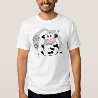 Lait boisson de vache t-shirts