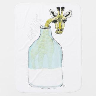 Lait de Giraf Couvertures Pour Bébé