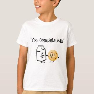 Lait et biscuits t-shirt