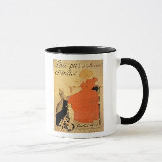 """""""Lait stérilisé pur de La Vingeanne"""", 1894 (Co Mug"""