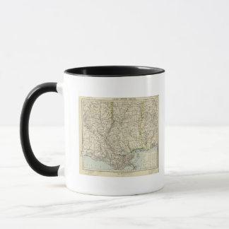 L'Alabama, Mississippi, Louisiane, Arkansas Mugs
