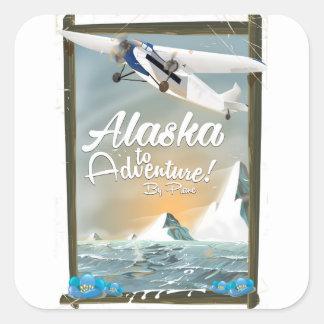 L'Alaska à risquer ! Sticker Carré