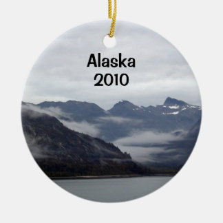 L'Alaska impressionnant ! Ornement Rond En Céramique