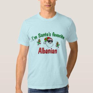 L'Albanais préféré de Père Noël T-shirts