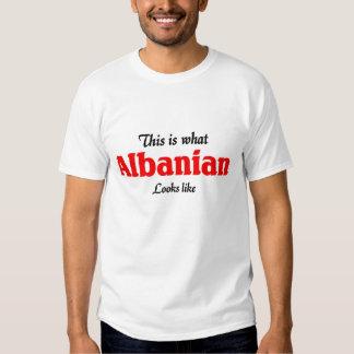 L'Albanais regarde le goût T-shirt