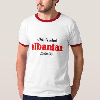 L'Albanais regarde le goût T-shirts