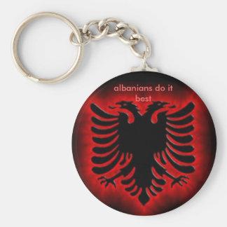 l'albanianeagle, Albanais le font meilleur Porte-clé Rond