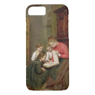 L'album de famille, 1869 (huile sur la toile) coque iPhone 7