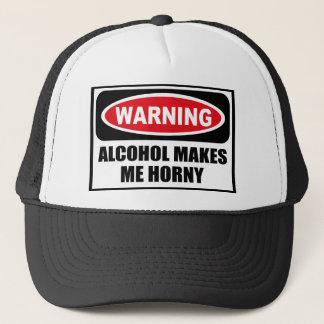 L'ALCOOL d'avertissement ME FAIT le casquette