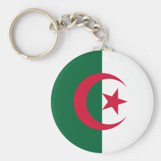 L'Algérie Porte-clé Rond