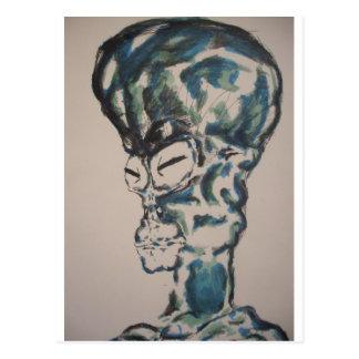 L'alien je suis carte postale