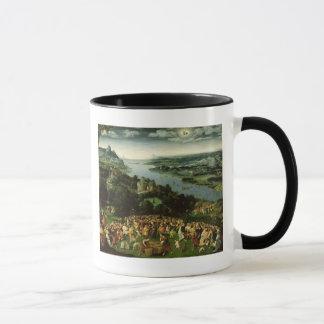 L'alimentation de cinq mille mug