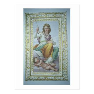 L'allégorie de la chasteté (fresque) cartes postales