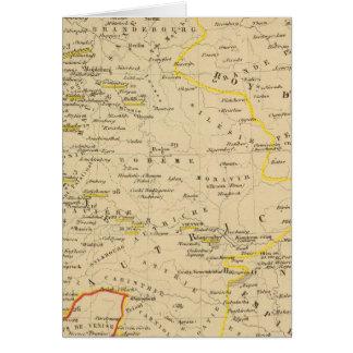 L'Allemagne 1437 un 1612 Carte De Vœux