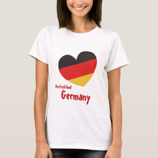 L'Allemagne Allemagne women shirt T-shirt