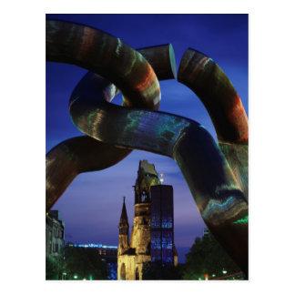 L'Allemagne, Berlin, Charlottenburg, Carte Postale
