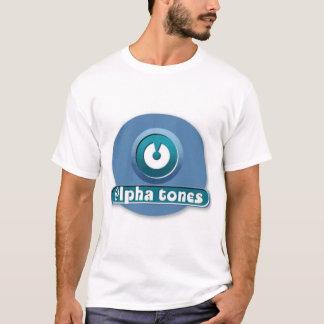 l'alpha modifie la tonalité le logo t-shirt
