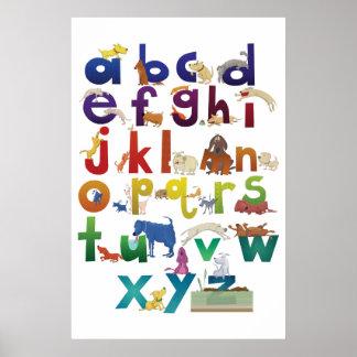 L'alphabet de Grotke poursuit l'affiche