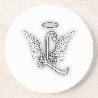 L'alphabet L lettre initiale d'ange s'envole le Dessous De Verre