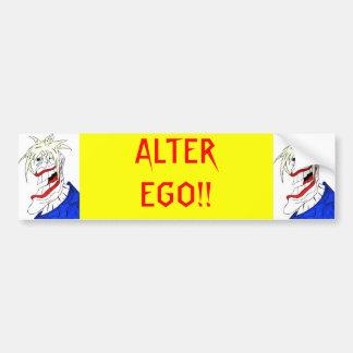 L'ALTER EGO ! ! ADHÉSIF POUR PARE-CHOCS AUTOCOLLANT DE VOITURE
