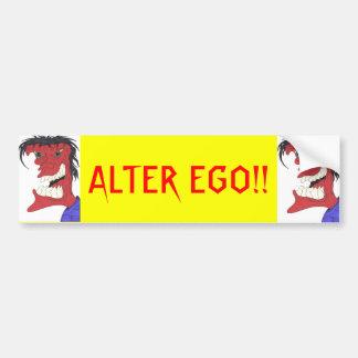 L'ALTER EGO ! ! ADHÉSIF POUR PARE-CHOCS AUTOCOLLANT POUR VOITURE