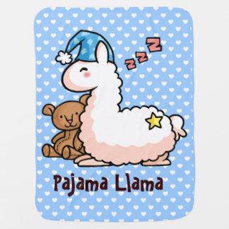 Lama de pyjama couverture de bébé