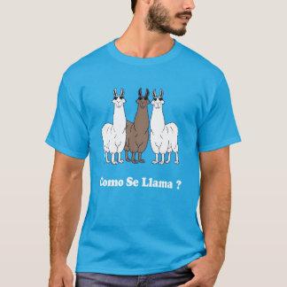 Lama de Se de Como ? Chemise espagnole drôle ce T-shirt
